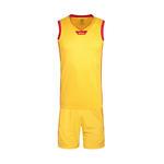 Wilson威尔胜儿童男女篮球服套装吸汗透气球服童装运动服背心短裤